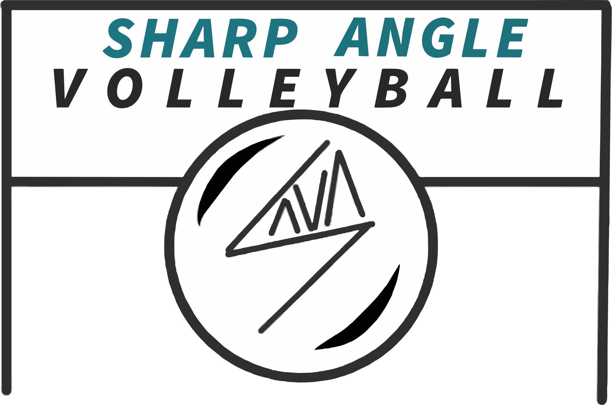 Sharp Angle Volleyball